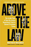 Matthew Whitaker Author Above the law Former Acting Attorney General