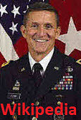 Michael Thomas Flynn retired United States Army lieutenant general, 25th National Security Advisor 22 days of the Trump administration until his resignation