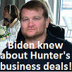 10-27-20 Tony Bobulinski Joe Biden knew about Hunter's business deals